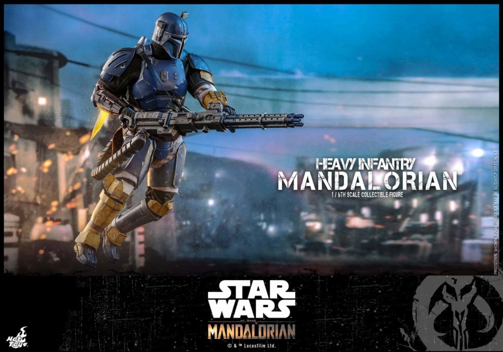Heavy Infantry Mandalorian Collectible Figure 1/6th Hot Toy. Fb_img68