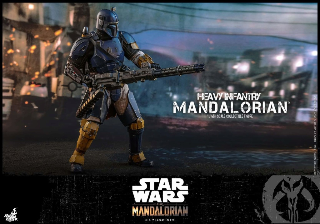 Heavy Infantry Mandalorian Collectible Figure 1/6th Hot Toy. Fb_img69
