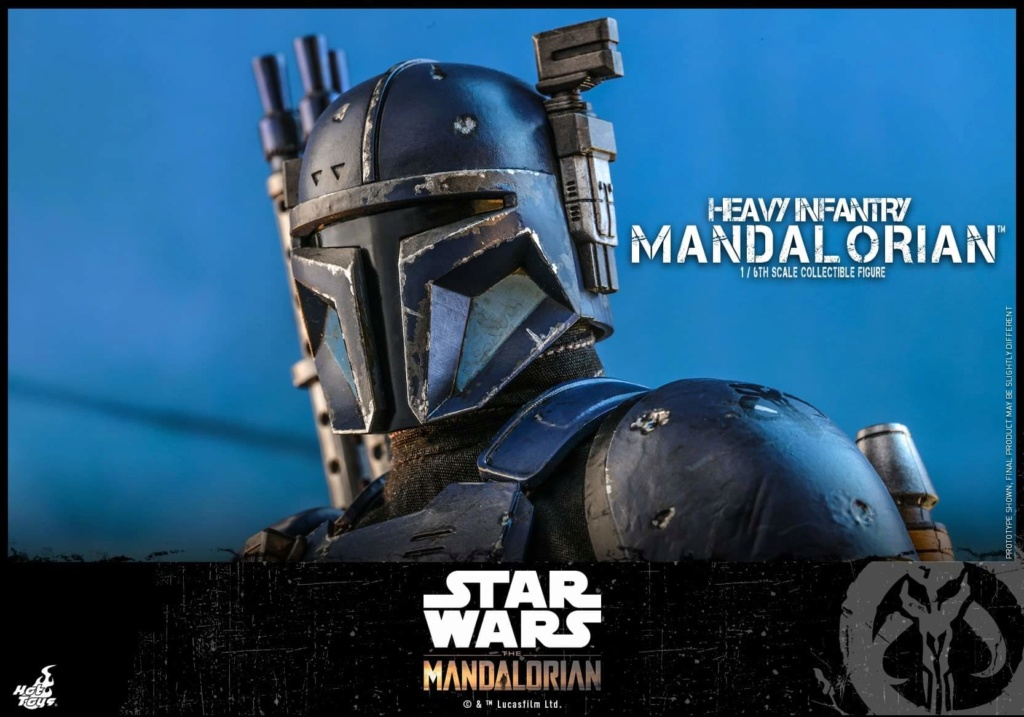 Heavy Infantry Mandalorian Collectible Figure 1/6th Hot Toy. Fb_img71