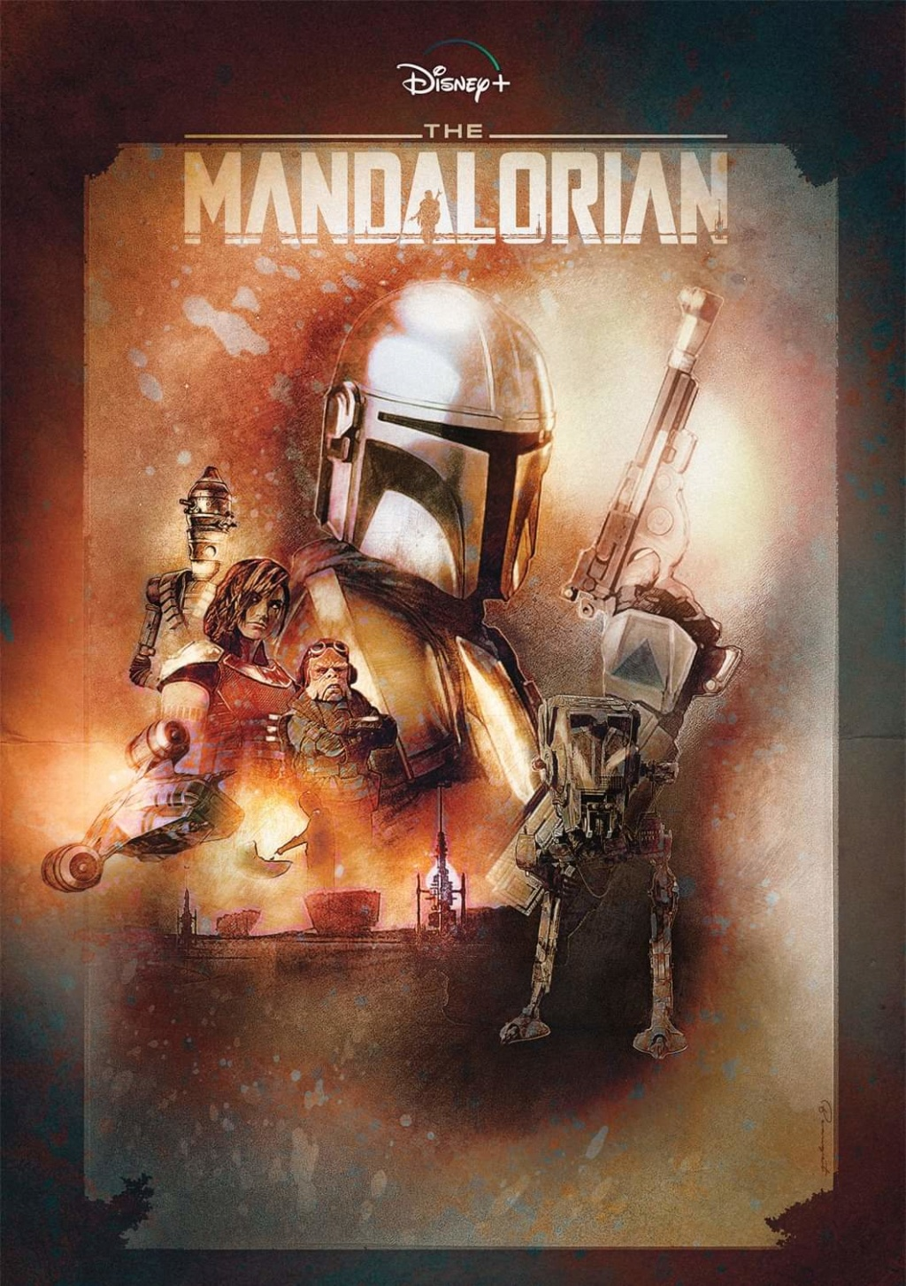 Teaser Poster Video FanMade Star Wars The Mandalorian Fb_img86