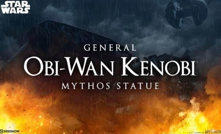 General Obi-Wan Kenobi Mythos Statue - Sideshow Fb_img96