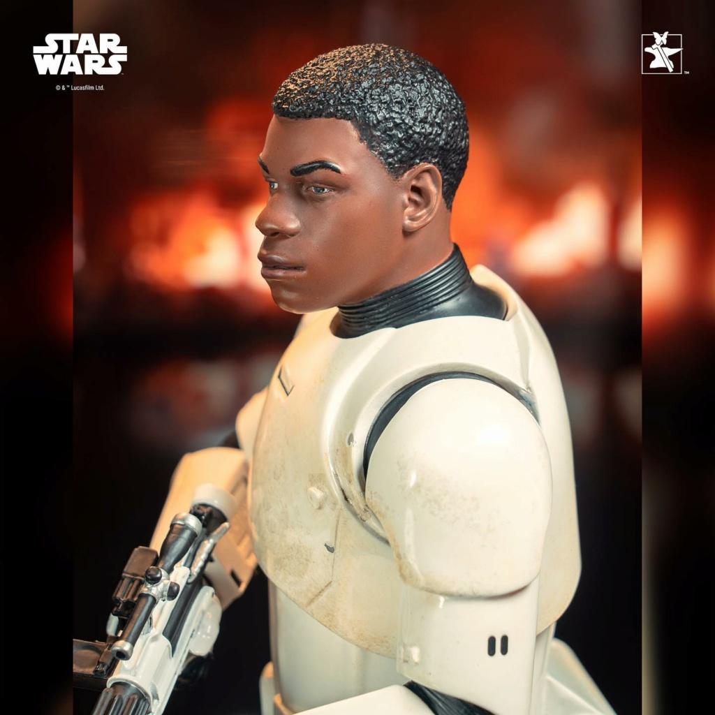 Finn (FN-2187) Mini Bust - The Force Awakens - Gentle Giant Finn_m25
