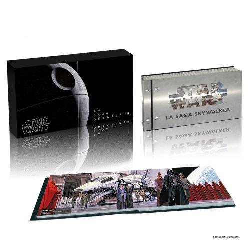 Coffret complet de la saga Star Wars en Blu-ray/4K UHD Fnac-b11