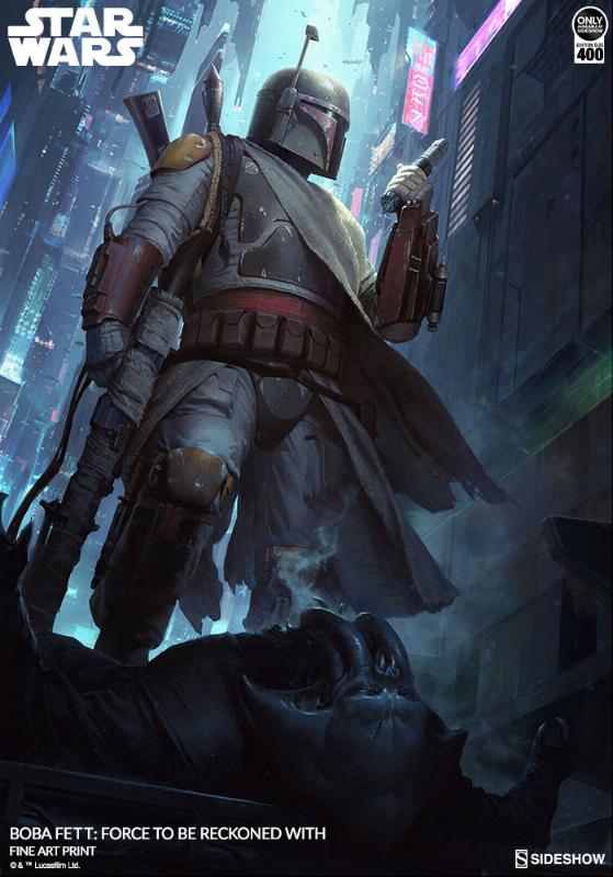 Sideshow - Boba Fett: Force to Be Reckoned With Force_12