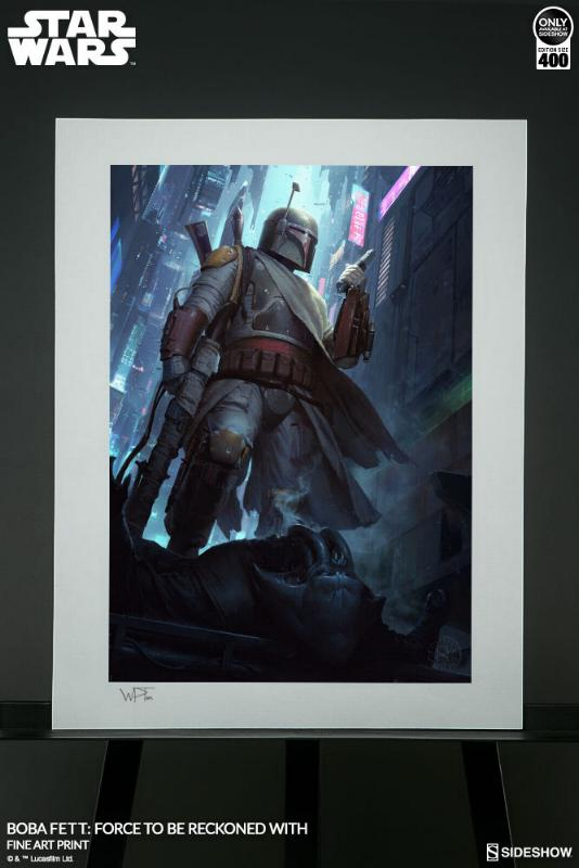 Sideshow - Boba Fett: Force to Be Reckoned With Force_13