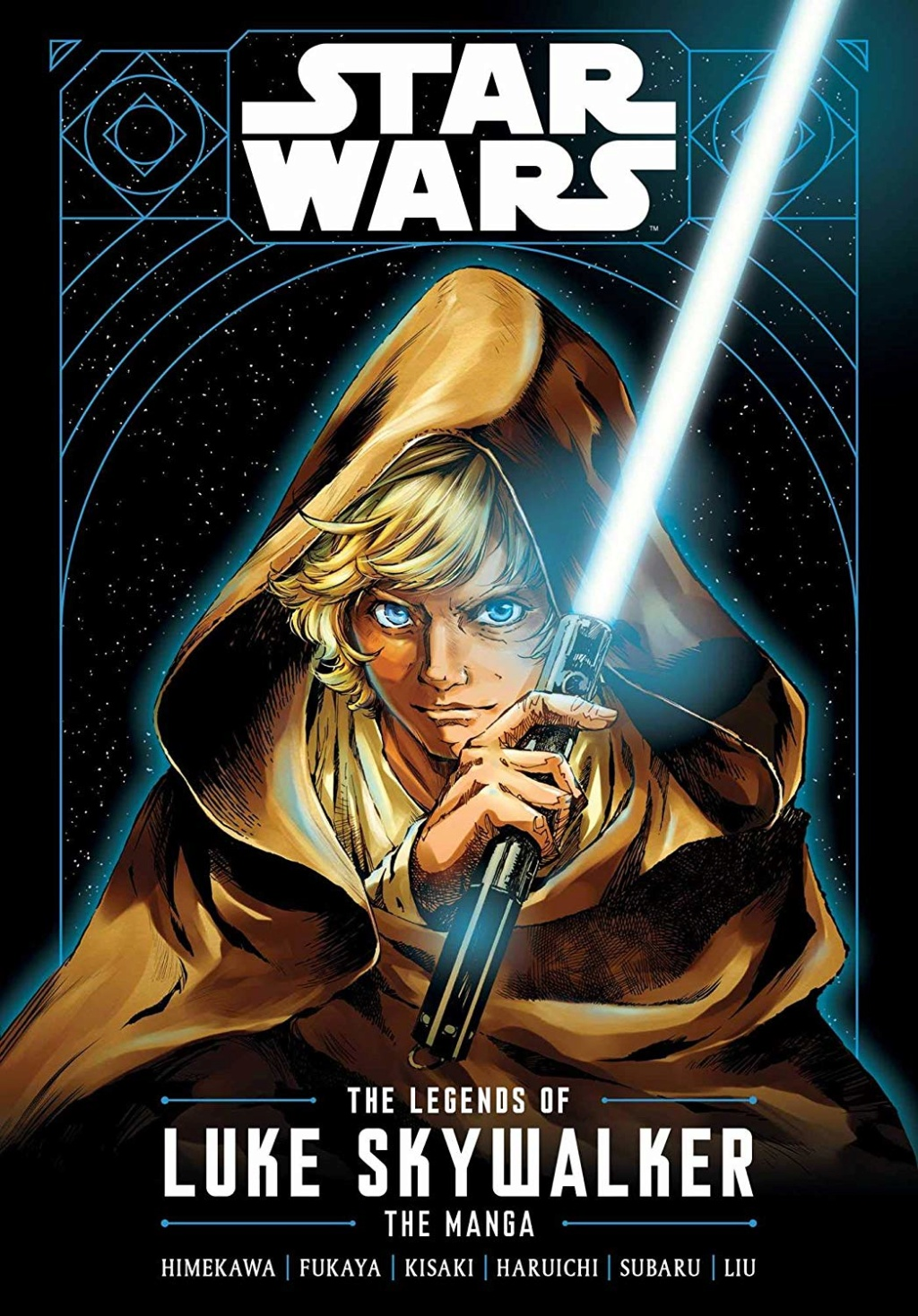 Star Wars: The Legends of Luke Skywalker: The Manga  Front_10