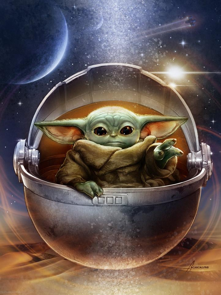 Galactic Child - Star Wars The Mandalorian - ACME /Dark Ink  Galact10