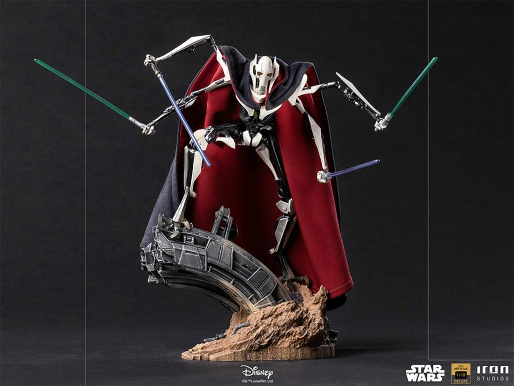 General Grievous Deluxe 1:10 Scale Statue - Iron Studios Genera11