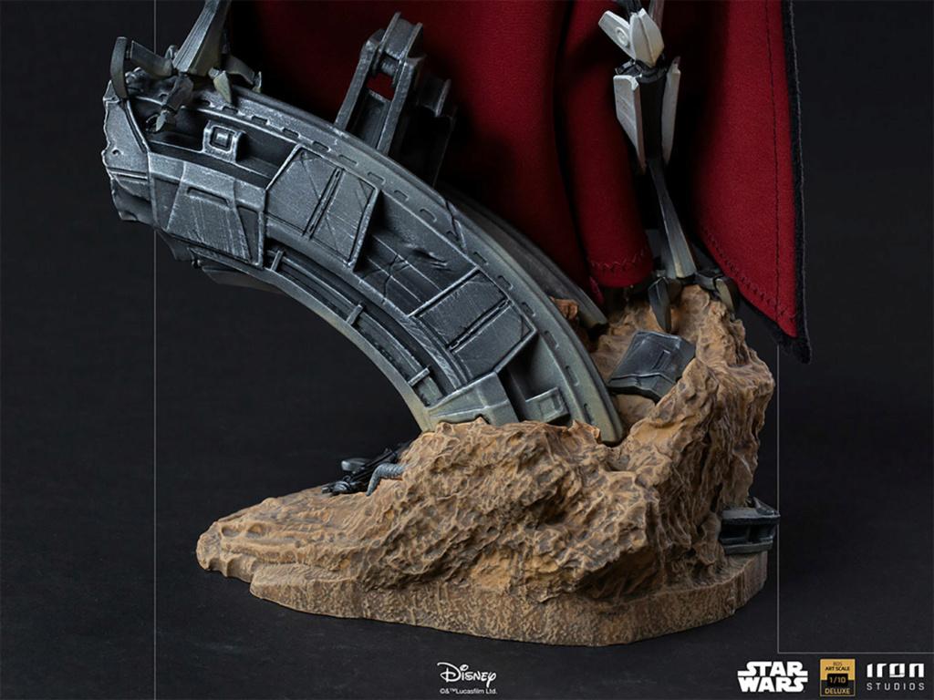 General Grievous Deluxe 1:10 Scale Statue - Iron Studios Genera16