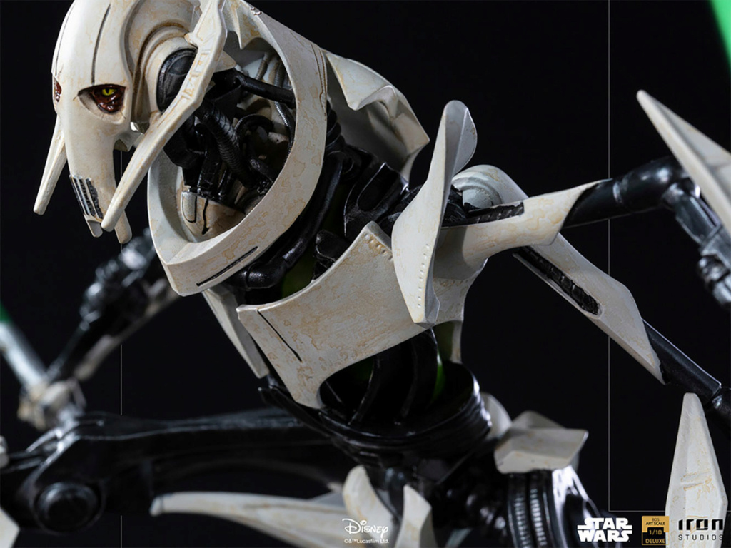 General Grievous Deluxe 1:10 Scale Statue - Iron Studios Genera22