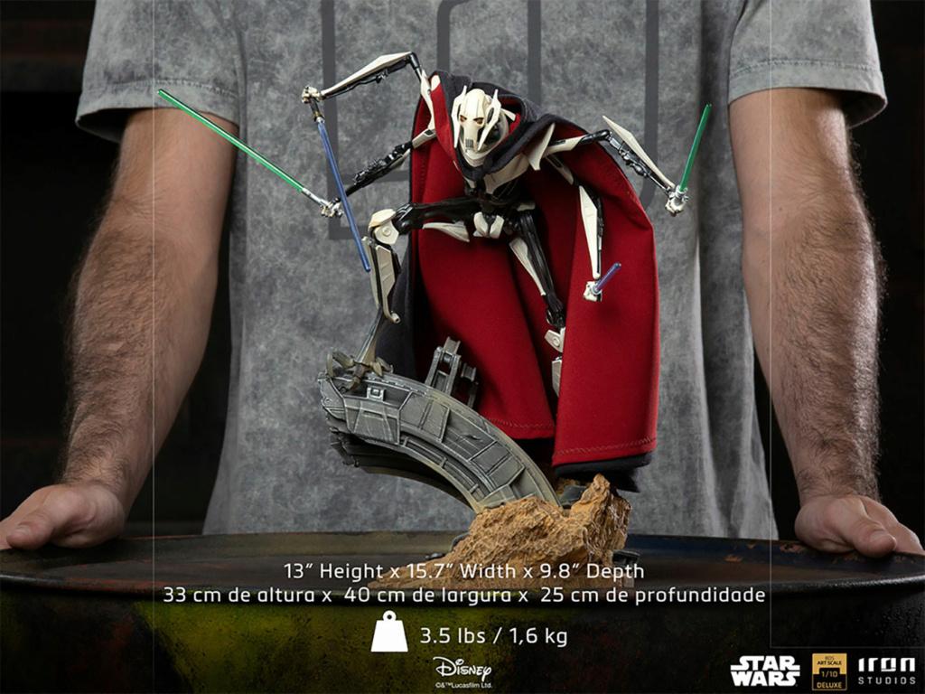 General Grievous Deluxe 1:10 Scale Statue - Iron Studios Genera27