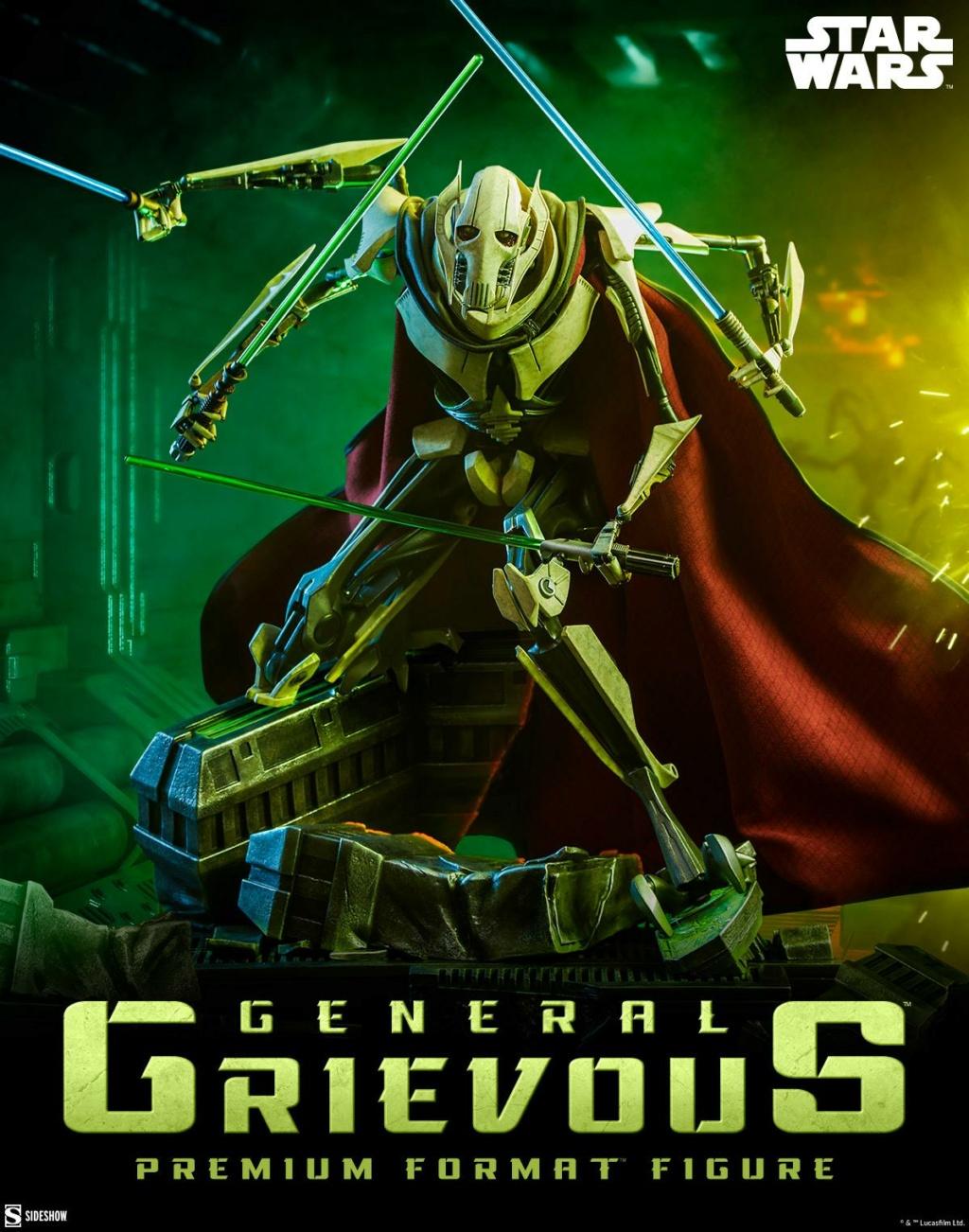 General Grievous Premium Format Figure (2021) - Sideshow Genera30