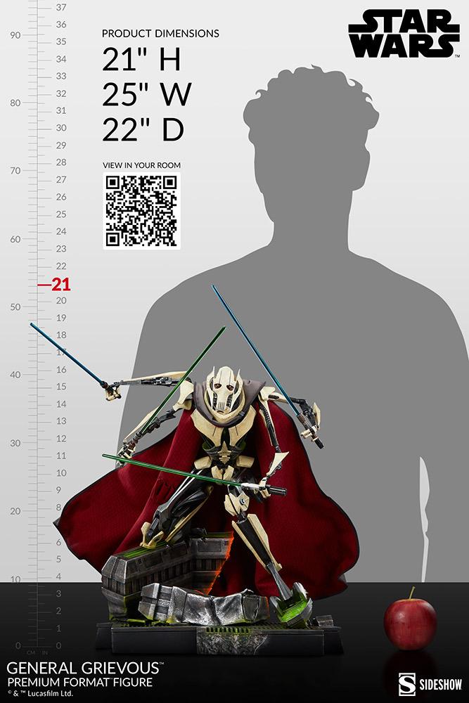 General Grievous Premium Format Figure (2021) - Sideshow Genera39