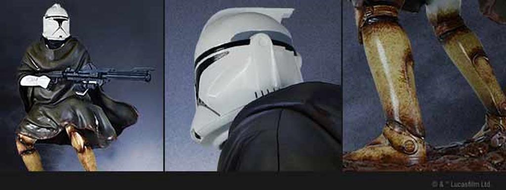 Hawkbat Clone Trooper Statue - Gentle Giant Gg-haw11