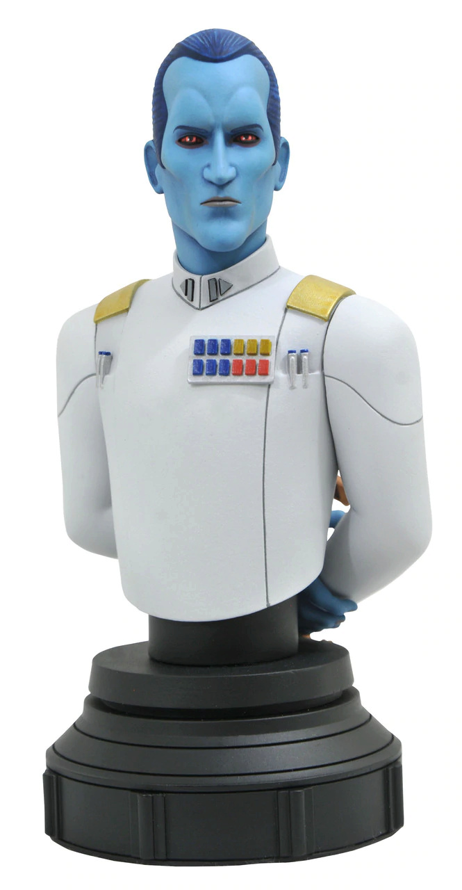 Grand Admiral Thrawn Animated Mini Bust - Gentle Giant Grand_10
