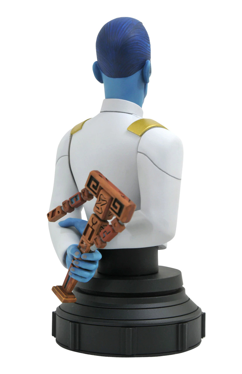 Grand Admiral Thrawn Animated Mini Bust - Gentle Giant Grand_11