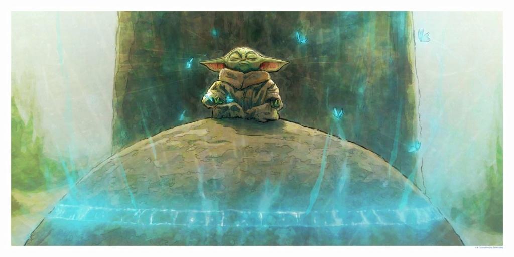 Grogu - Artwork Star Wars - ACME Archives Grogu10