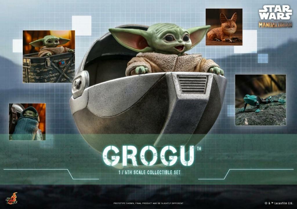 Grogu Collectible Set - Star Wars The Mandalorian - Hot Toys Grogu_10