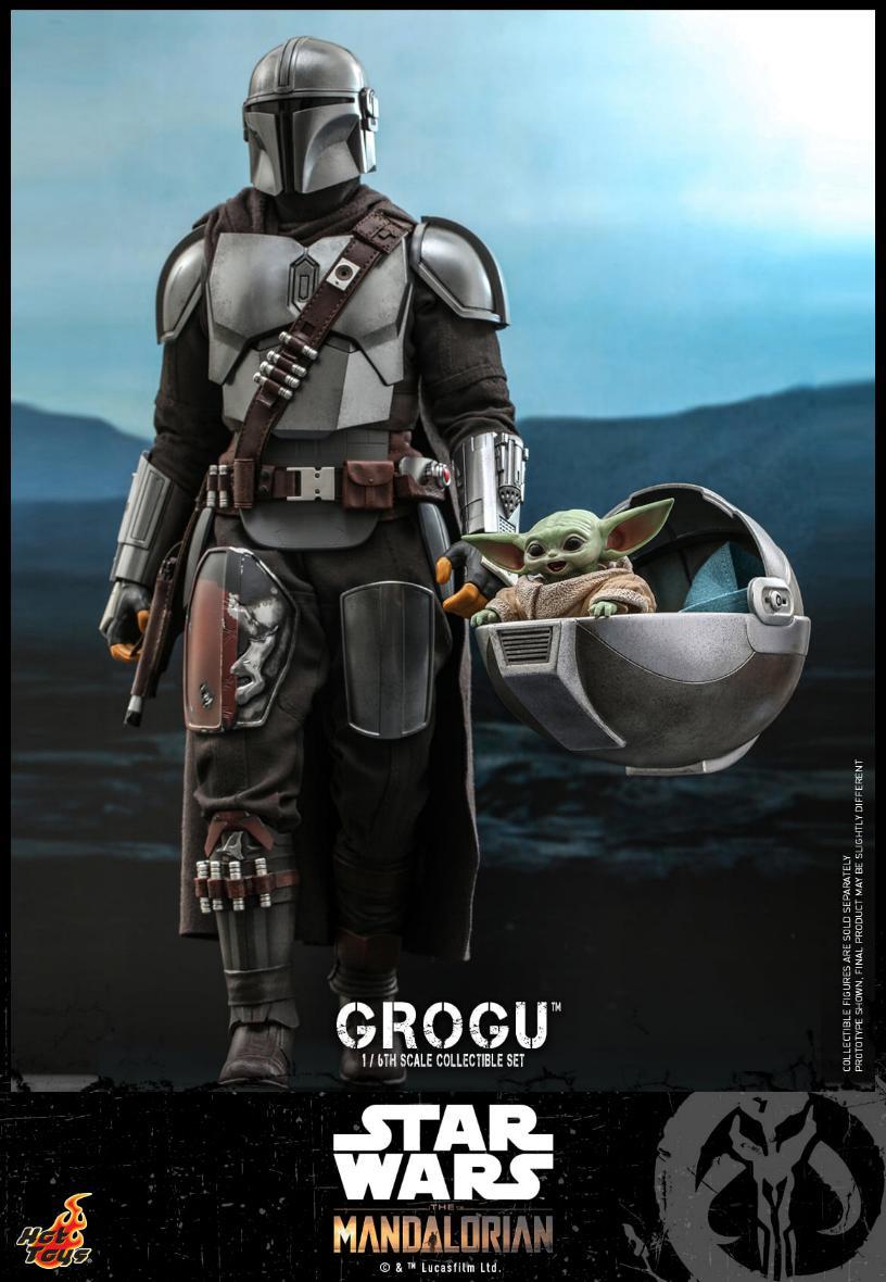 Grogu Collectible Set - Star Wars The Mandalorian - Hot Toys Grogu_11