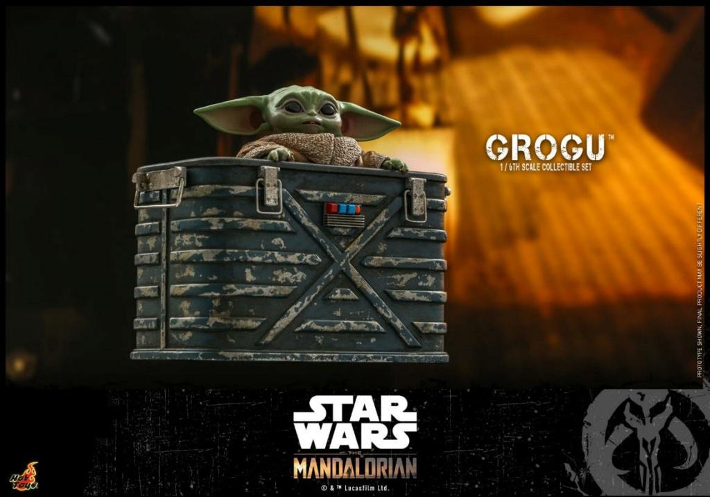 Grogu Collectible Set - Star Wars The Mandalorian - Hot Toys Grogu_12