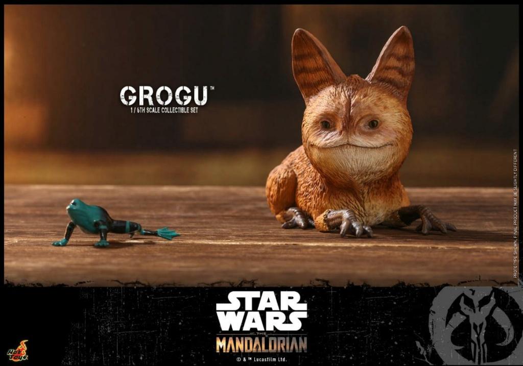 Grogu Collectible Set - Star Wars The Mandalorian - Hot Toys Grogu_13