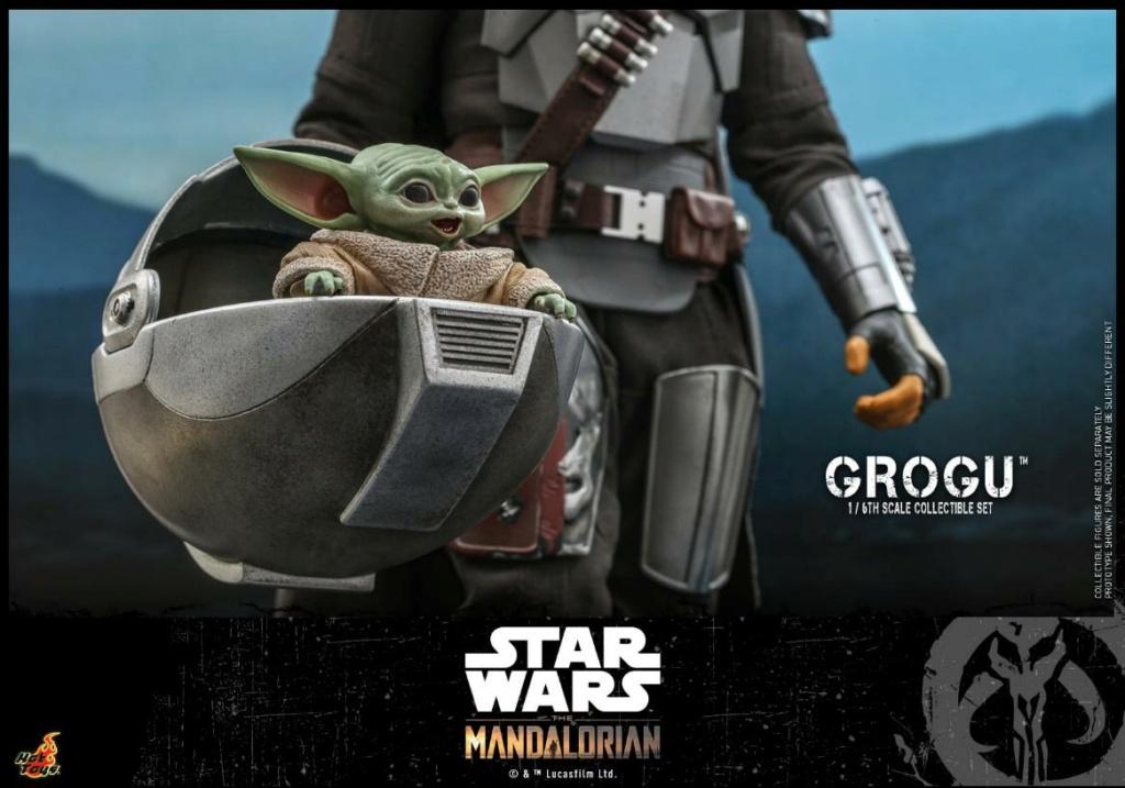 Grogu Collectible Set - Star Wars The Mandalorian - Hot Toys Grogu_14