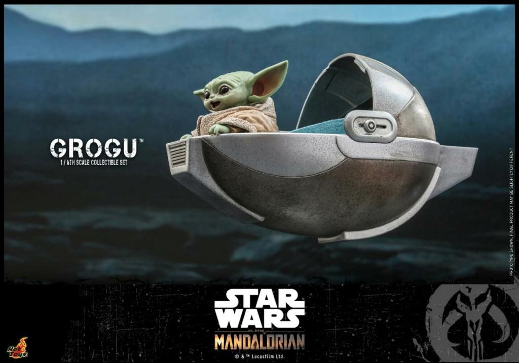 Grogu Collectible Set - Star Wars The Mandalorian - Hot Toys Grogu_15