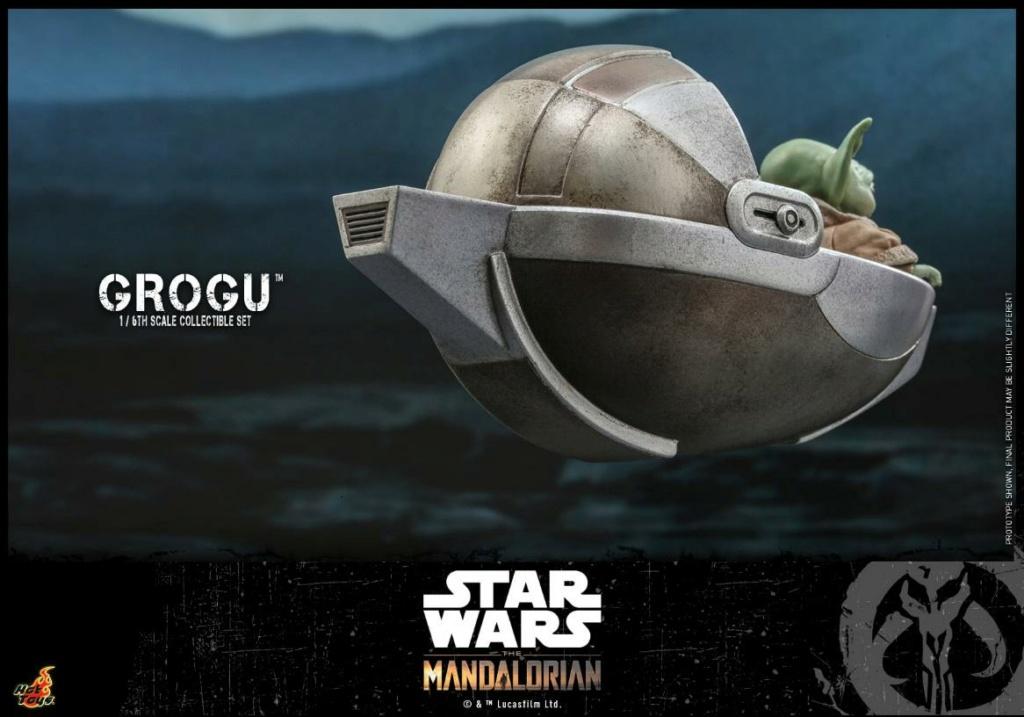 Grogu Collectible Set - Star Wars The Mandalorian - Hot Toys Grogu_16