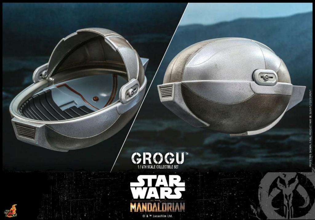 Grogu Collectible Set - Star Wars The Mandalorian - Hot Toys Grogu_17