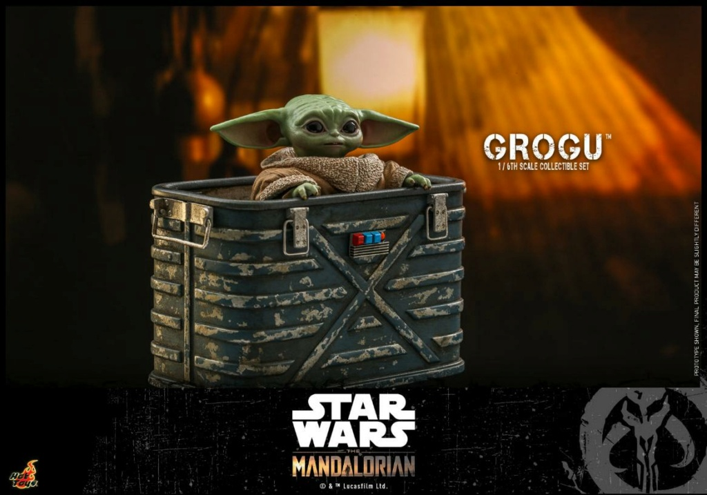 Grogu Collectible Set - Star Wars The Mandalorian - Hot Toys Grogu_18