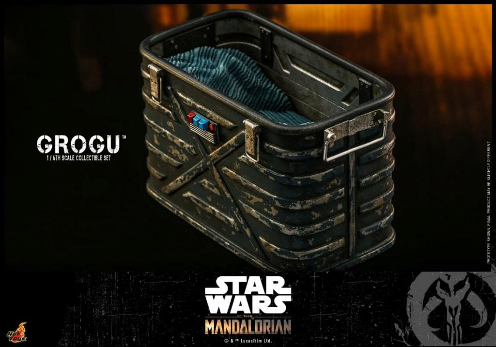 Grogu Collectible Set - Star Wars The Mandalorian - Hot Toys Grogu_20