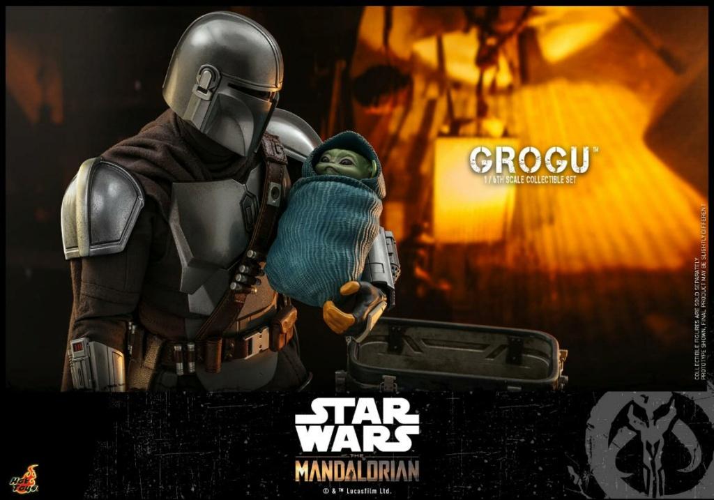 Grogu Collectible Set - Star Wars The Mandalorian - Hot Toys Grogu_21
