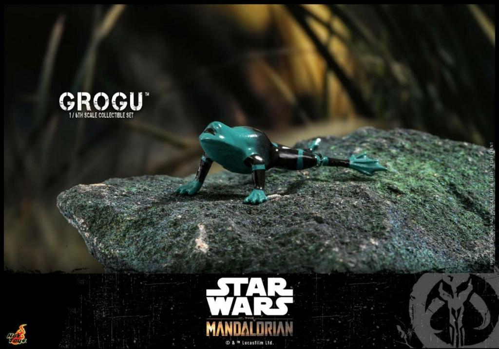 Grogu Collectible Set - Star Wars The Mandalorian - Hot Toys Grogu_22