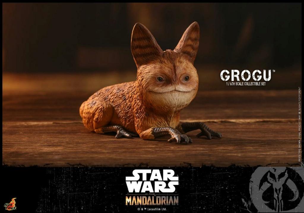 Grogu Collectible Set - Star Wars The Mandalorian - Hot Toys Grogu_23