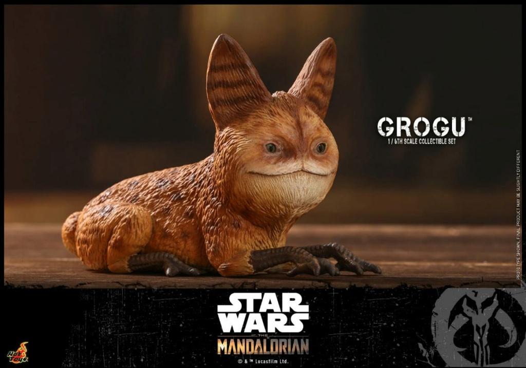 Grogu Collectible Set - Star Wars The Mandalorian - Hot Toys Grogu_24