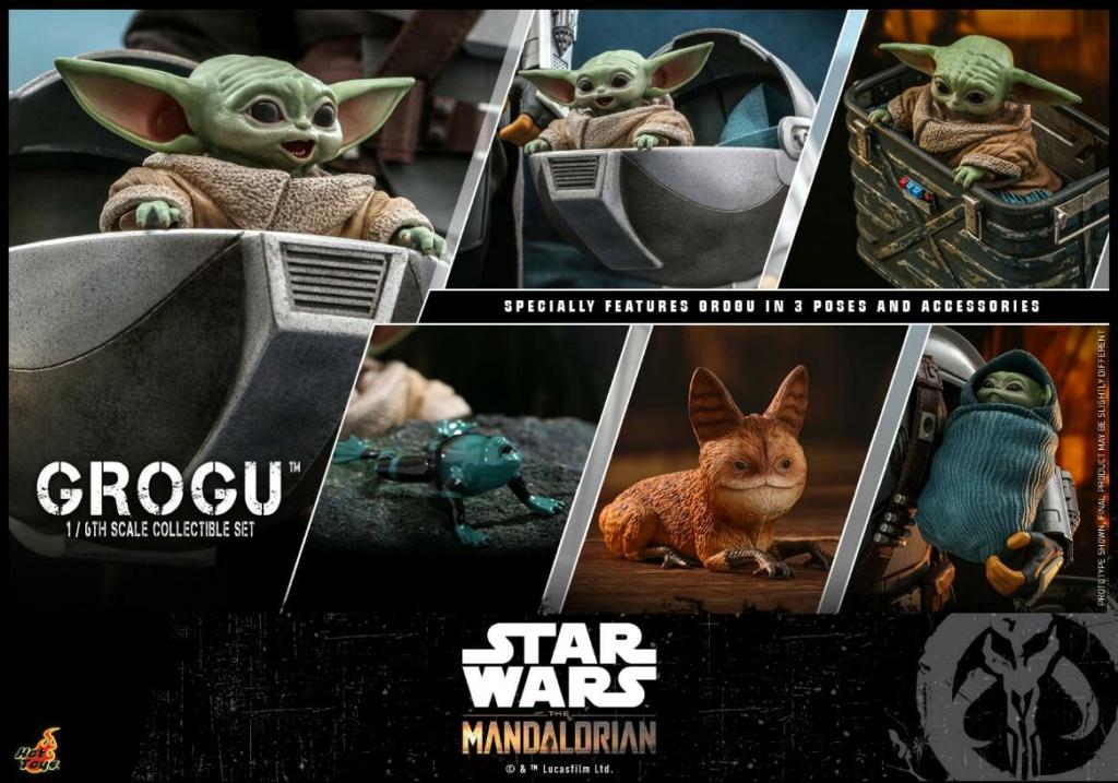 Grogu Collectible Set - Star Wars The Mandalorian - Hot Toys Grogu_25