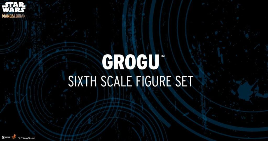 Grogu Sixth Scale Figure Set - Hot Toys Grogu_26