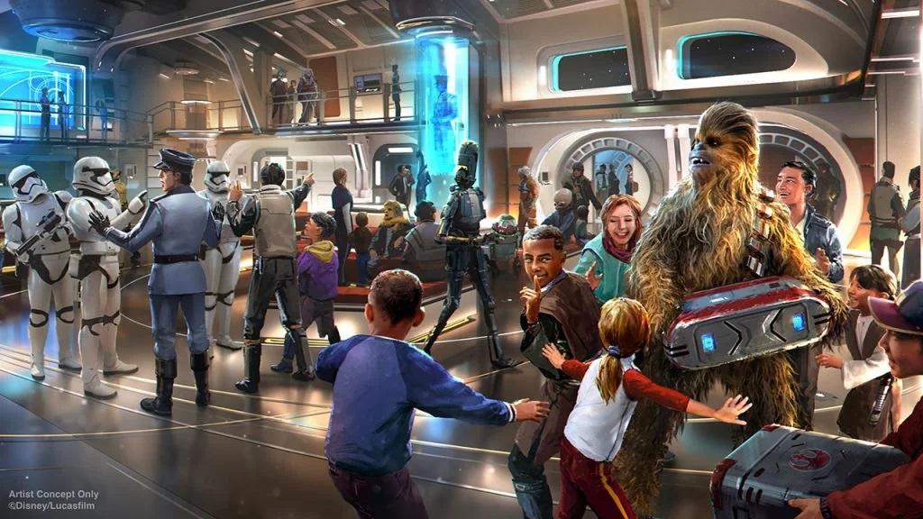 Star Wars Hotel - Disney Hollywood Studios Halcyo13