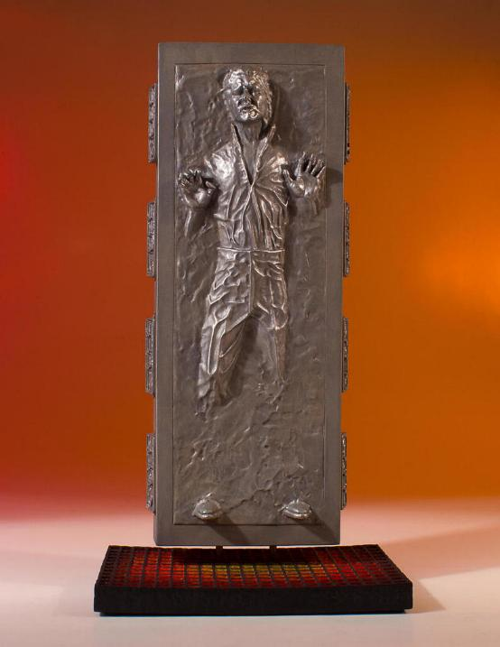 Gentle Giant - Han Carbonite Collector's Gallery statue Han-so10