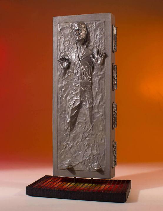 Gentle Giant - Han Carbonite Collector's Gallery statue Han-so11