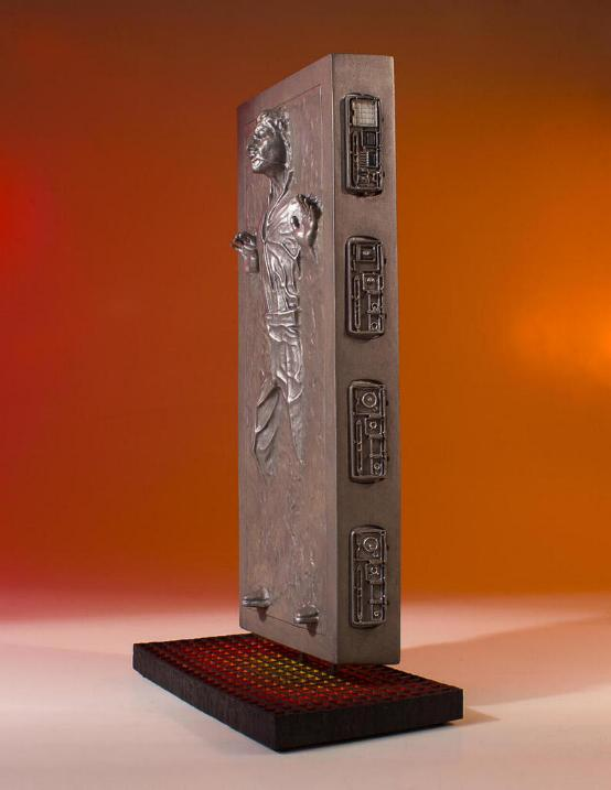 Gentle Giant - Han Carbonite Collector's Gallery statue Han-so13