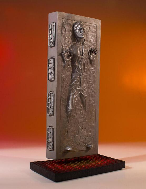 Gentle Giant - Han Carbonite Collector's Gallery statue Han-so16