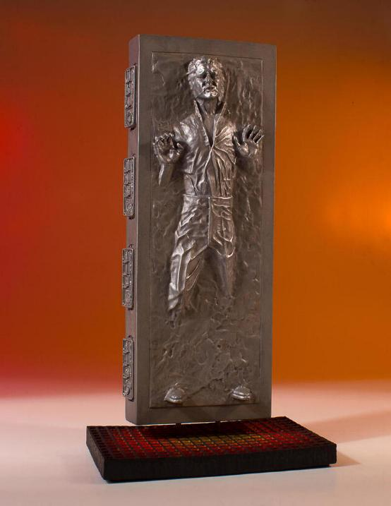 Gentle Giant - Han Carbonite Collector's Gallery statue Han-so17