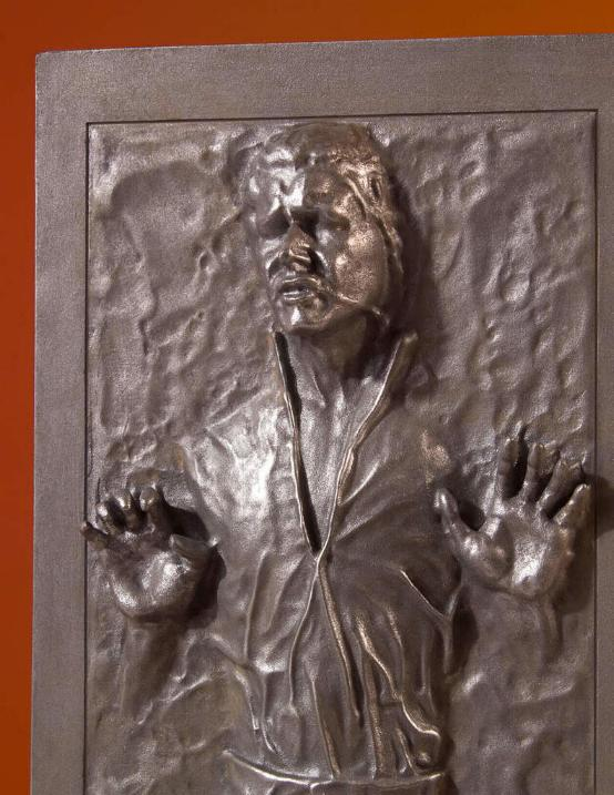 Gentle Giant - Han Carbonite Collector's Gallery statue Han-so18