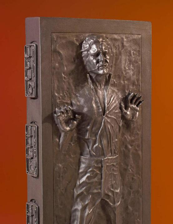 Gentle Giant - Han Carbonite Collector's Gallery statue Han-so19