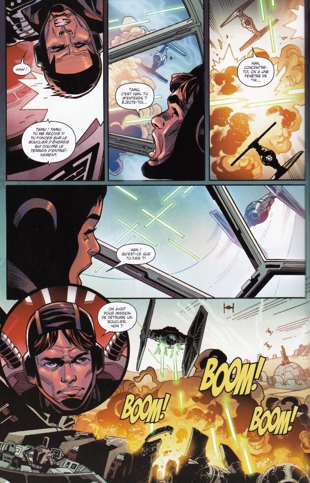 Han Solo : Cadet Impérial - PANINI - Star Wars Han_so22