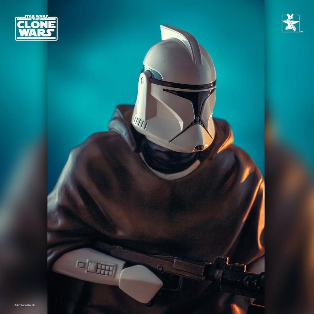 Hawkbat Clone Trooper Statue - Gentle Giant Hawkba13