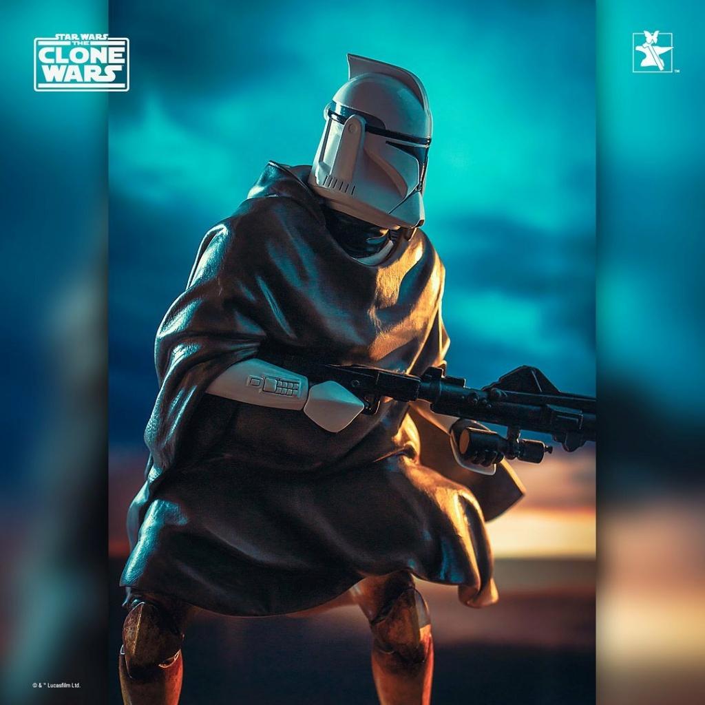 Hawkbat Clone Trooper Statue - Gentle Giant Hawkba15