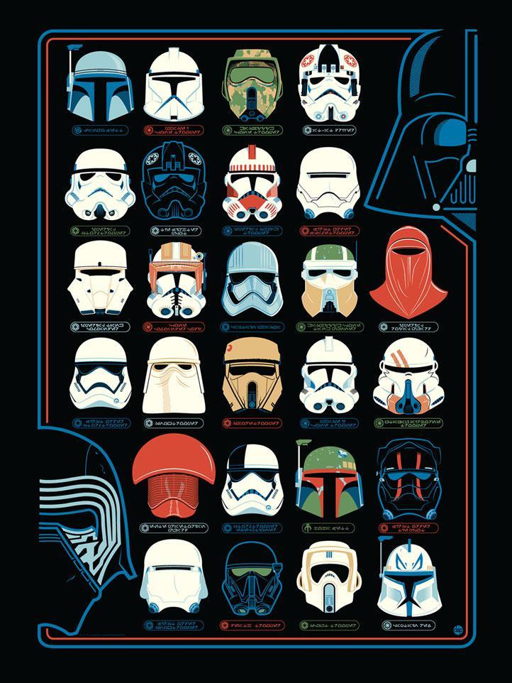 Helmets - Artwork Star Wars - DARK INK Helmet10