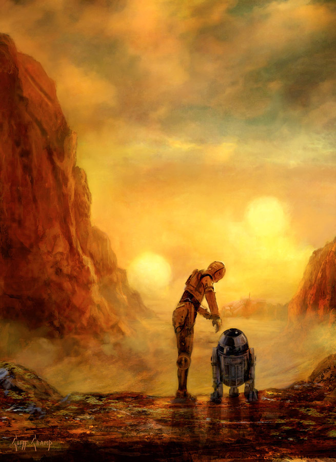 Artwork Star Wars - ACME - Helping Hands Helpin10